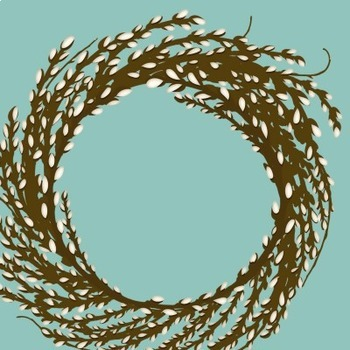 Pussy Willow Tree Branches Clip Art, Catkins, Spring, Easter, PussyWillow