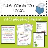 Poem Types Flipbook - Differentiated