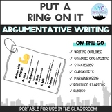 Put A Ring On It: Argumentative Writing Edition