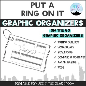 Put A Ring On It: Graphic Organizers