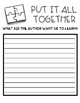 Put It All Together - A worksheet for ELA Jigsaw - Wit & Wisdom