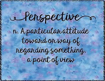 Perspective Quote Poster Set