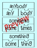 Put-It-Together Compound Word Puzzle