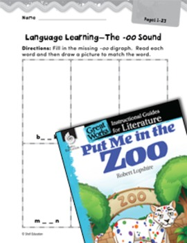 Put Me in the Zoo Language Learning Activities