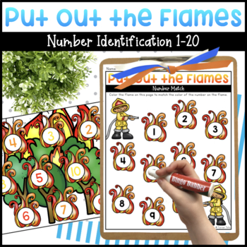 Put Out the Flames Math Activity
