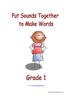 Put Sounds Together to Make Words: Introduce/Practice/Assess