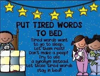 Put Tired Words to Bed