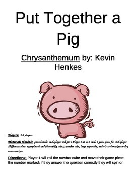 Put Together a Pig Chrysanthemum by Kevin Henkes