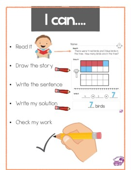 Put Together word problems first grade 0-10
