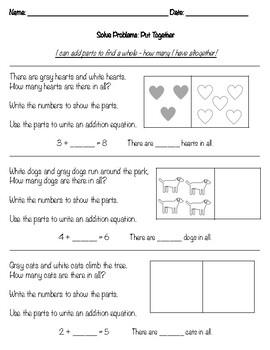 Put Together worksheet