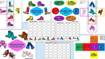 Put Your Best Foot Forward!  Back to School Literacy, Games, and Printables