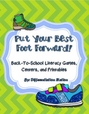Put Your Best Foot Forward!  Back to School Literacy, Game