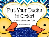 Ordinal Numbers - Put Your Ducks In Order