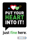 Put Your Heart Into It! - Decal