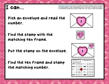 Valentine's Math Centers, Games, and Printables
