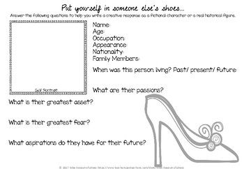 Put Yourself in Someone Else's Shoes -Creating Empathy & Understanding Worksheet