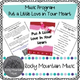 Put a Little Love in Your Heart Music Program