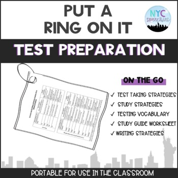 Put a Ring on It: Test Prep