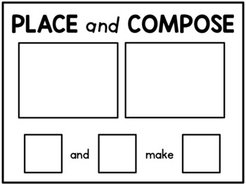 Composing Numbers for Kindergarten: Hands-On Centres & Printables