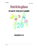 Put it in Place: Place Value Game