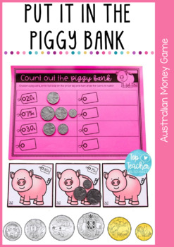 Put it in the piggy bank - Australian money game