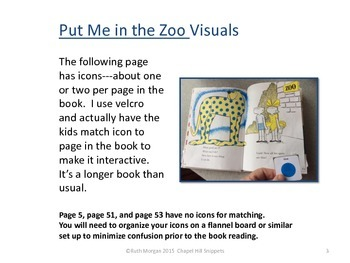 Put me in the Zoo--Companion Pack: Great for SLP/EC collaboration
