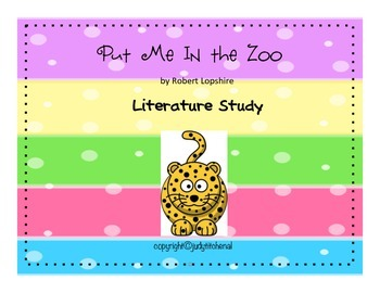 Put me in the Zoo -Lit Study