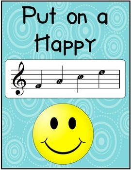 Put on a Happy FACE Musical Poster