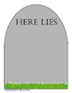 Put overused words to rest--tombstone edition