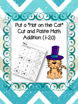 Put the Hat on the Cat Addition (1-20)