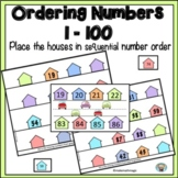 Number Order  Place the House Numbers in Sequential Order