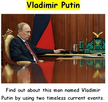 Putin: Getting to Know this Man