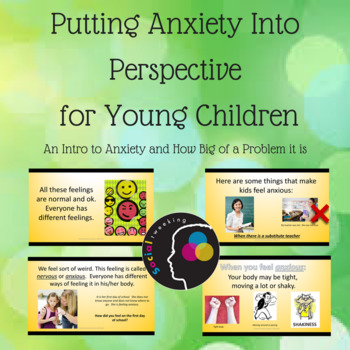 Putting Anxiety into Perspective for Children; CBT; Anxiety Prevention