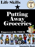 Putting Away Groceries Activity Book