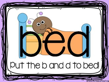 Putting B and D to Bed Poster FREEBIE