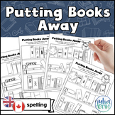 Putting Books Away - Library Activity (Canadian/British Spelling)