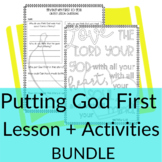 Putting God First Object Lesson + Activities Bundle