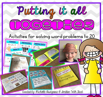 Putting It All Together (6 interactive activities for word problems to 20)