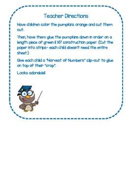 Putting Pumpkins in Order: Ordering Numbers 1-20