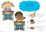 Putting Your Hand Up Classroom Poster