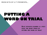 Putting a Word on Trial