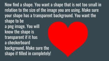 Putting an image onto any shape with Pixlr - Perfect for TPT sellers!