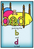 Putting b and d to bed