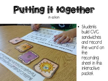 Making CVC Words- Putting it Together