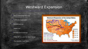 Putting it all together - Westward, Gilded, Progressive