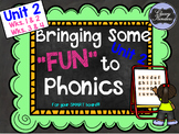 "Level K, Unit 2: Putting the FUN in ""Fun""dational Teaching! For Your Smartboard!"