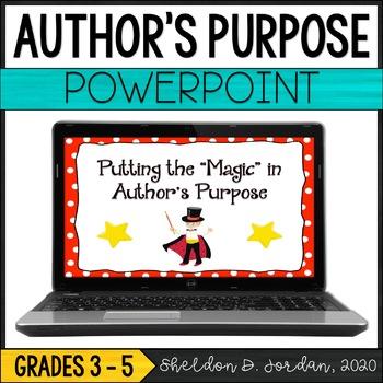 Putting the Magic in Author's Purpose