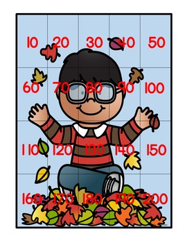 Putting the Pieces Together Bundle:  Seasonal Puzzles with a Math Focus
