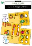 Puzles de Otoño (carpetas de trabajo autónomo)