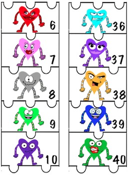 Number Puzzle 1-60